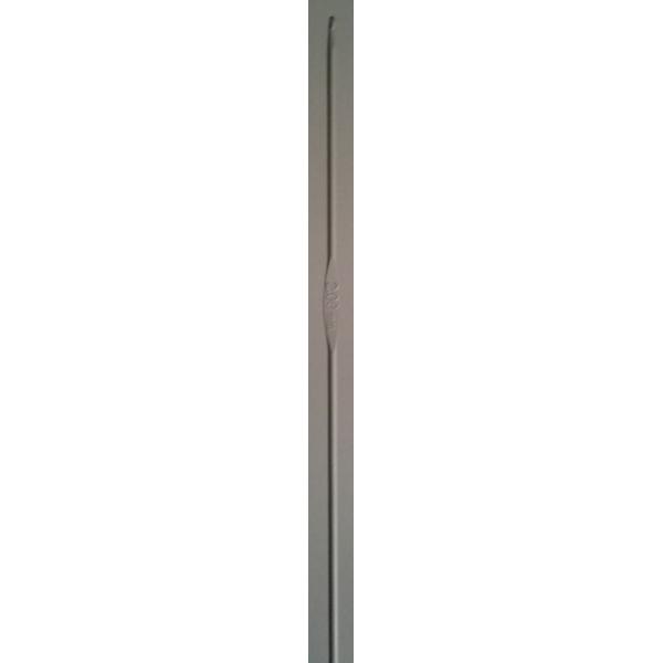 Aguja aluminio 2 mm