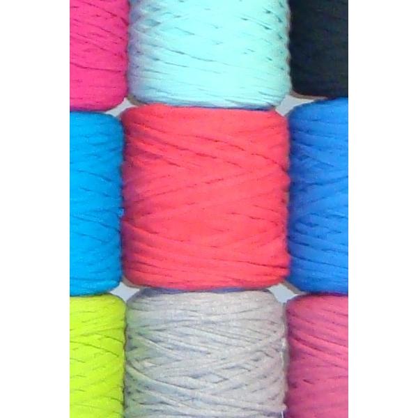 pack´s 10 bobinas trapillo colores lisos Ø14 cm
